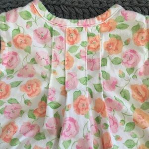 Little Me Dresses - Little Me onesie dress. Floral. 6 months.